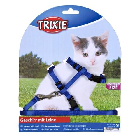 Nylonové postroje pro kočky a koťata