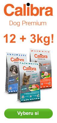 Calibra Premium 12 + 3 kg ZDARMA