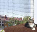 Ochranná síť pro kočky černá, Trixie