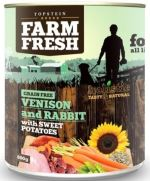 Topstein Farm Fresh Venison and Rabbit with Sweet Potatoes 800g