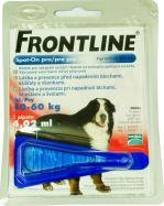 Front Line Spot on Frontline XL červený 4,02ml - EXP 03/2021