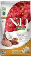 N&D Grain Free Quinoa DOG Skin & Coat Quail & Coconut 7kg