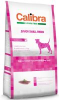 Calibra Dog Grain Free Junior Small Breed Duck 2kg