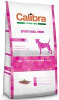 Calibra Dog Grain Free Junior Small Breed Duck 7kg