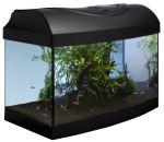 Akvarijní set 40 - černý oblý 40x25x25cm
