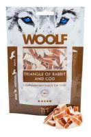 WOOLF pochoutka Rabbit and Cod Triangle 100g