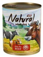 TOBBY konzerva Natural Beef 850g