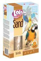 LOLO pets pomerančový písek pro ptáky 1500g