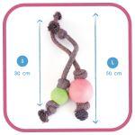 BecoBall lano EKO-růžová_L