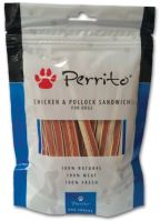 Perrito Chicken & Pollock Sandwich pro psy 100g