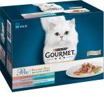 Gourmet Perle rybí Duo minifiletky ve šťávě Multipack 12x85g