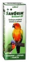 Sangrim Briliant AV pro ptáky 20ml