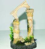 Standtop  Dekorace akvarijní Antický sloup 12,5 x 10,5 x 20 cm