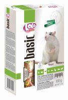 LOLO BASIC kompletní krmivo pro potkany 500g krabička