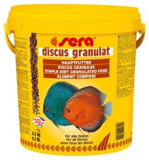 Sera Discus Granulát Premium 10l