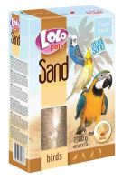 LOLO pets písek s mušlemi pro ptáky 1500g