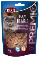 Premio HEARTS light- srdíčka z kachních prsíček a tresky 50g