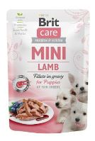 Brit Care Dog Mini Puppy Lamb fillets in gravy 85g