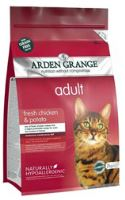 Arden Grange Cat Adult Chicken & Potato 2kg
