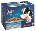 Felix cat kapsička Fantastic Multipack výběr z ryb 12x100g