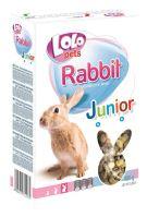 LOLO JUNIOR kompl. krmivo pro králíky 8-12 měs. 400g krabička