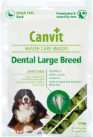 Canvit Snacks Dental Large Breed Duck 250g