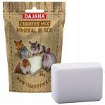 Dajana COUNTRY MIX, Mineral block, minerální kámen pro hlodavce 55g