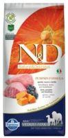 N&D Grain Free Pumpkin DOG Adult Medium/Large Lamb & Blueberry 12kg