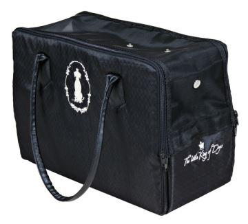 Přepravní taška černá KING OF DOGS, Trixie