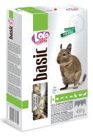 LOLO BASIC kompletní krmivo pro osmáky degu 450g krabička