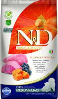 N&D Grain Free Pumpkin DOG Puppy Medium/Large Lamb & Blueberry 2,5kg