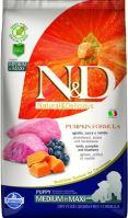 N&D Grain Free Pumpkin DOG Puppy Medium/Large Lamb & Blueberry 2,5kg