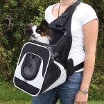 Nylonový batoh na psa klokanka Savina Trixie
