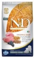 N&D Low Grain DOG Puppy Medium/Large Lamb & Blueberry 12kg