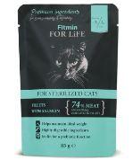 Fitmin for Life masová kapsička pro kočky Duck 85g