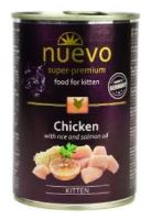 Nuevo kotě kuře konzerva 400g