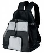 Cestovní batoh na hrudník TAMINO 32x37x24cm černo/šedý