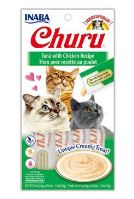 Churu Cat Purée Tuna with Chicken 4x14g