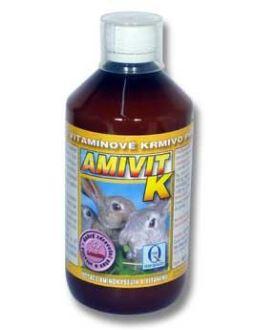 Aquamid Amivit K králíci 500ml