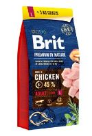 BRIT Premium by Nature Adult L 15+3kg