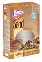 LOLO Pets terarijní písek 1500g krabička