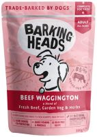 BARKING HEADS Beef Waggington kapsička 300g