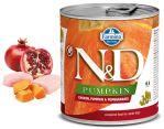 N&D DOG PUMPKIN Adult Chicken & Pomegranate 285g 1 + 1 ZDARMA