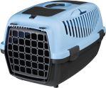 Trixie Transportní box CAPRI II 37x34x55cm max.do 8kg - světle šedá/modrá