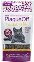 PlaqueOff Dental Bites pro kočky 60g - EXP 09/2019
