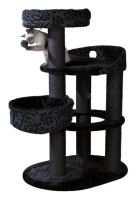 Škrábadlo FILIPPO šedo/černé 114cm