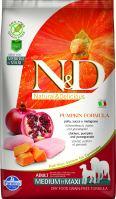 N&D Grain Free Pumpkin DOG Adult Medium/Large Chicken & Pomegranate 12kg