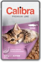 Calibra Cat kapsa Premium Kitten Salmon 100g
