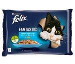 Felix Fantastic s lososem a platýsem v želé 4x85g