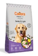 Calibra Dog Premium Line Senior&Light 12kg NEW